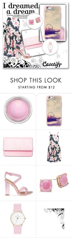 """California Colors :)"" by arijanagetos55 ❤ liked on Polyvore featuring MAC Cosmetics, Casetify, MICHAEL Michael Kors, Sans Souci, Kate Spade, Laruze, case and phone"