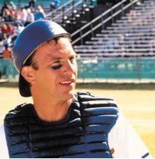 Crash Davis in Bull Durham.  Yes, Kevin Costner.