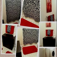 Zebra Bathroom Ideas : zebra bathroom ideas on Pinterest  Zebra Print Bathroom, Fabric ...