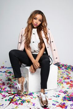 """Tinashe Didn't Ask To Be A Celebrity, She Was Born One #refinery29  http://www.refinery29.com/tinashe#slide5  I was introduced to your music through Ryan Hemsworth's remix of """"Boss."""" A lot of your stuff gets remixed in general. Are you okay with that?  """"Yeah, I love it!"""" Is there a dream person who you would want to remix your stuff?  """"I don't know if I have, like, a dream person. Maybe the Neptunes? Somebody like that would be dope.""""  What would be considered selling out for you?  """"A ..."""