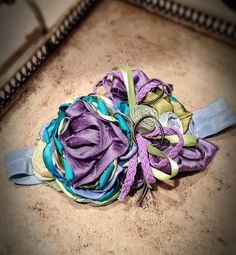 This beautiful headband is Grapefully Yours by MylittleHalos