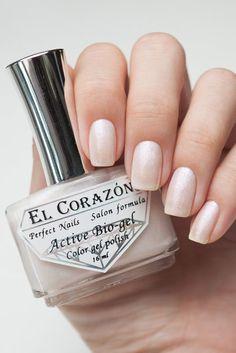 Brand: El Corazon Collection: Active Bio-gel Shimmer // Color: No.423 / 16 // Blog: Anna Gorelova