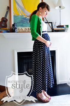 FASHION DUES DUEN'TS - Retro Maternity Style Category |