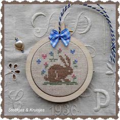 Spring Rabbit from Atelier Steekjes & Kruisjes.