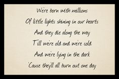 All The Little Lights I dearly love this song Passenger Lyrics, Love Songs, Make Me Smile, Ears, Wisdom, Let It Be, Lights, Music, Quotes