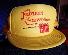 FAIRPORT CONVENTION  1988 CROPREDY REUNION BASEBALL CAP