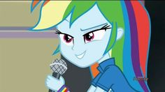 Little Poni, My Little Pony Characters, Rainbow Dash, Equestria Girls, Mlp, Humor, Sunset, Awesome, Board