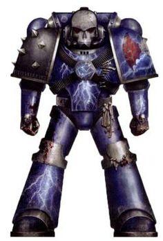 Night Lords Pre-Heresy Legion Colour Scheme