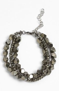 Free shipping and returns on La Mer Collections 'Venus' Pyrite Bracelet at Nordstrom.com. Pyrite may be nicknamed 'Fool's Gold,' but this tri-strand bracelet crafted with faceted pyrite beads will leave you looking fashionable, not foolish.