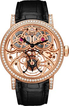 Franck Muller l Giga Tourbillon Franck Muller, Tourbillon Watch, Timex Watches, Skeleton Watches, Luxury Watches For Men, Beautiful Watches, My Guy, Watch Sale, Cool Watches