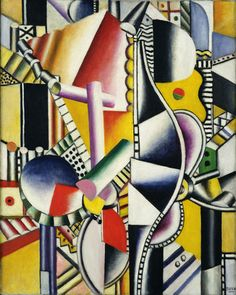 Propellers by Fernand Leger. One of my favorites from him! Cubist Paintings, Cubism Art, Marcel Duchamp, Georges Braque, Rene Magritte, Art Français, Artist Art, Pablo Picasso, Jackson Pollock