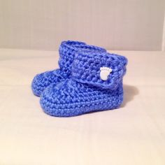 Baby Boy Blue Boots by busyhermits on Etsy Handmade Baby Items, Handmade Gifts, Crochet For Kids, Knit Crochet, Blue Boots, Boy Blue, Baby Boy, Beanie, Knitting