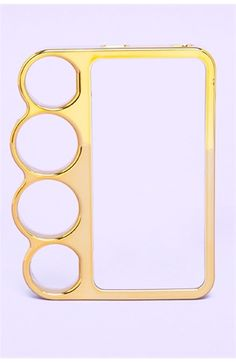 Metallic Knuckle 4S Phone Case. So cool