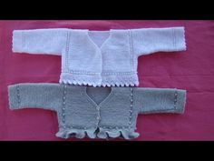 CHAQUETA BEBE CORTA - 3 - YouTube