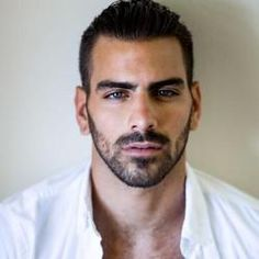 "The CW's ""America's Next Top Model"" is back with Cycle 22 and, so far this season is making such a huge buzz online all thanks to the model hopefuls. One contender that really stands out since the premiere of the show is deaf model Nyle DiMarco. Nyle Dimarco, Cody Christian, Hairy Men, Bearded Men, Beautiful Eyes, Gorgeous Men, America's Next Top Model, Le Male, Austin Mahone"