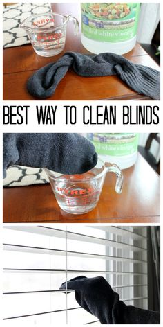 The best way to clean blinds - tips and tricks for doing it quicker, easier, and. The best way to clean blinds - tips and tricks for doing it quicker, easier, and all naturally! Cleaning The Best Way to Clean Blinds (Naturally) Deep Cleaning Checklist, Household Cleaning Tips, Deep Cleaning Tips, House Cleaning Tips, Cleaning Solutions, Spring Cleaning, Cleaning Hacks, Cleaning Products, Grill Cleaning
