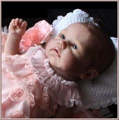 Silicone Baby Doll - so real looking. Bidding up to $15100