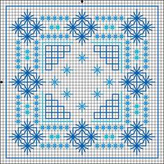 BLACKWORK-esquemas Motifs Blackwork, Blackwork Cross Stitch, Blackwork Embroidery, Cross Stitch Charts, Cross Stitching, Cross Stitch Embroidery, Embroidery Patterns, Stitch Patterns, Chicken Scratch Embroidery