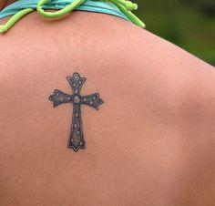 Dainty Cross Tattoos Small cross tattoo 25