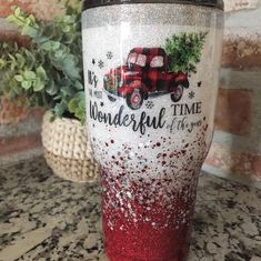 Your place to buy and sell all things handmade Diy Tumblers, Custom Tumblers, Glitter Tumblers, Coffee Tumbler, Coffee Cups, Tumblr Cup, Christmas Tumblers, Cup Crafts, Custom Cups