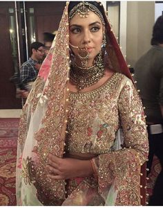 Outfit by Ali Xeeshan for bridal week 2016!