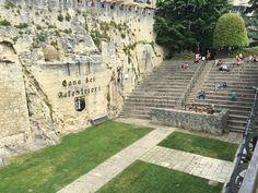 Cava dei Balestrieri (wall) - City of San Marino