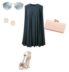"""Untitled #29"" by narrebybn on Polyvore featuring CO, Dsquared2, Ted Baker, Ray-Ban and Kendra Scott"