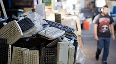 Newsela | Piles of thrown-out TVs, laptops and phones pose an environmental risk