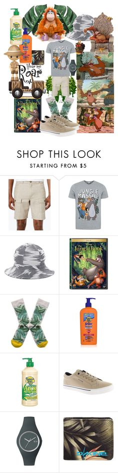 """Just like men"" by lerp ❤ liked on Polyvore featuring Tasso Elba, George, KING, King Louie, Saturdays, Disney, Bonne Maison, Banana Boat, Tommy Hilfiger and Ice-Watch"