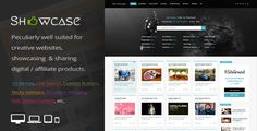 WordPress Grid / Masonry Blog Theme. Showcase is a tremendously intuitive, suited to be deployed for a number of different websites and projects of all kinds, but peculiarly well suited for creative websites, showcasing digital / affiliate products. Completely responsive to look perfectly in all mobile devices, easily usable with any device as well as PCs.