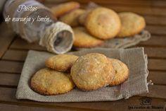 Las recetas de Masero: Pastas de naranja y limón