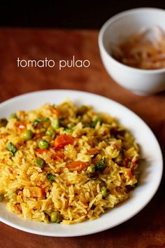 tomato pulao recipe, how to make vegetable tomato pulao recipe