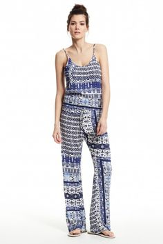 Emmy Printed Jumpsuit  | Calypso St. Barth