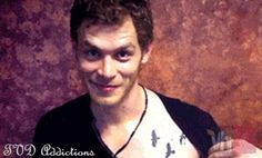 """""""Joseph Morgan aka Klaus from vampire diaries has the Tris tattoo from divergent"""" holy crap i love him that much more now!"""