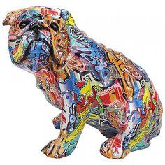 Graffiti Elephant Figurine By Lesser /& Pavey