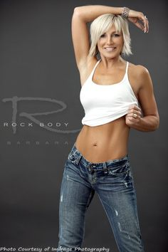 Mature body women fitness