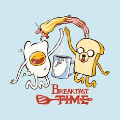 "How do you like your adventure? Over easy? No matter how you take your adventure, ""Breakfast Time"" by has been served up for scoring! Score some design submissions, you. Adventure Time Background, Abenteuerzeit Mit Finn Und Jake, Adveture Time, Supernatural Fan Art, Cute Canvas, Adventure Time Finn, Cartoon Shows, Disney Fan Art, Cartoon Wallpaper"