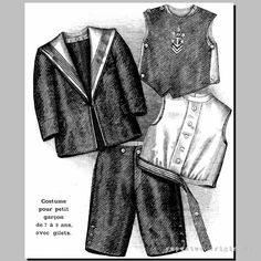 Victorian Reproduction PDF Pattern  1890's   by RepeatedOriginals, $20.00