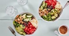 Summertime calls for nutritious, low-cal recipes. Here are 30 light summer meals, all under 500 calories. Clean Eating Vegetarian, Vegetarian Meals For Kids, Kids Meals, Healthy Eating, Cook Meals, Vegan Meals, Vegetarian Food, Freezer Meals, Vegan Food