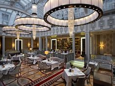 The Lanesborough Hotol in London, or as I like to call it, the best place for high tea. Extra crumpets, please.
