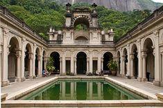 Parque Lage (Lage Park), Rio de Janeiro, Brazil