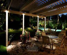 lighting....front porch idea