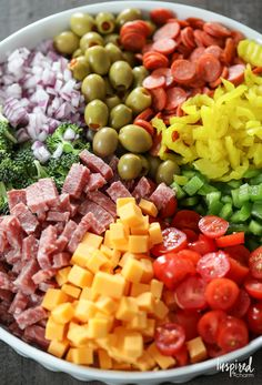 Good Pasta Salad recipe packed with flavor and perfect for summer enterta.Really Good Pasta Salad recipe packed with flavor and perfect for summer enterta. Winter Fruit Salad with Lemon Poppy Seed Dressing New Recipes, Cooking Recipes, Healthy Recipes, Recipies, Cooking Games, Delicious Salad Recipes, Favorite Recipes, Fast Recipes, Kitchen Recipes