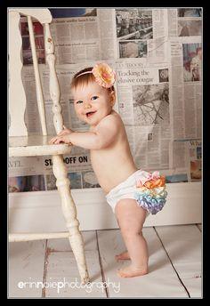 diaper cover w/newspaper background
