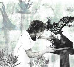 Kaatje Vermeire | De zeer vermoeide man en de vrouw die hartstochtelijk van bonsai hield