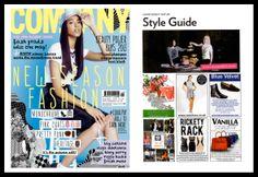 Rickety Rack in Company Magazine, October 2013