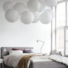 Hoping this bed comes to a US Ikea with the new catalog roll out in August Ikea Bedroom, Home Bedroom, Modern Bedroom, Bedroom Decor, Bed Ikea, Bedroom Lighting, Room Interior, Interior Design, Modern Interior