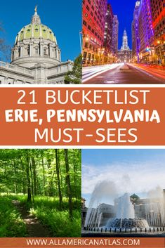 There's something magical about Erie, Pennsylvania, including the best things to do in Erie for kids, the best things to do in Erie for families, and the best things to do in Erie in the rain. These USA travel tips will keep you coming back for more and exploring Pennsylvania with smiles! Usa Travel, Travel Tips, Erie Pennsylvania, Stuff To Do, Things To Do, Erie County, Great Lakes Region, What To Pack, Travel Around