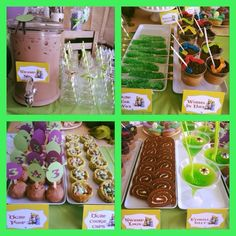Shrek Birthday Party Food Ideas! See more party ideas at CatchMyParty.com!
