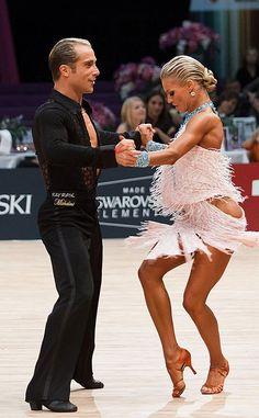 Riccardo and Yulia cha cha
